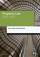 Property Law 2016-2017