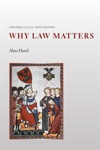 Book Why Law Matters by Alon Harel