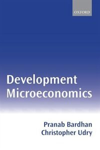 Book Development Microeconomics by Pranab Bardhan
