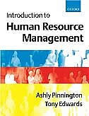 Book Introduction to Human Resource Management by Ashly Pinnington