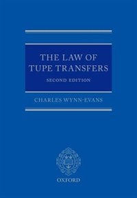 Book The Law of TUPE Transfers by Charles Wynn-Evans