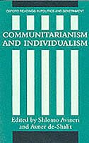 Book Communitarianism and Individualism by Shlomo Avineri