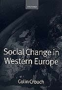 Book Social Change in Western Europe by Colin Crouch