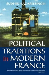 Book Political Traditions in Modern France by Sudhir Hazareesingh