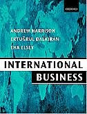 Book International Business: Global Competition From a European Perspective by Andrew Harrison