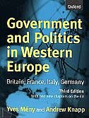 Book Government and Politics in Western Europe: Britain, France, Italy, Germany by Yves Meny