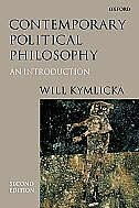 Book Contemporary Political Philosophy: An Introduction by Will Kymlicka