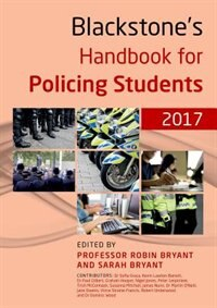 Book Blackstones Handbook for Policing Students 2017 by Sofia Graca