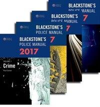 Blackstones Police Manuals 2017: Four Volume Set
