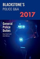 Blackstones Police QandA: General Police Duties 2017