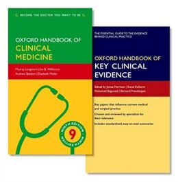 Book Oxford Handbook of Clinical Medicine 9e and Oxford Handbook of Key Clinical Evidence Pack by Murray Longmore