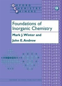 Book Foundations of Inorganic Chemistry by Mark Winter