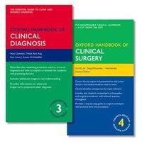 Oxford Handbook of Clinical Diagnosis 3e and Oxford Handbook of Clinical Surgery 4e