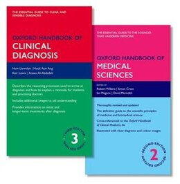 Book Oxford Handbook of Clinical Diagnosis and Oxford Handbook of Medical Sciences by Huw Llewelyn