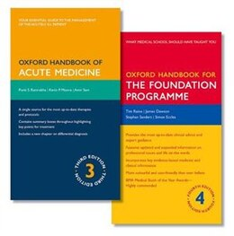 Book Oxford Handbook of Acute Medicine and Oxford Handbook for the Foundation Programme by Punit Ramrakha