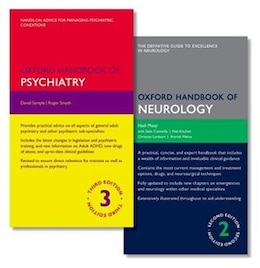 Book Oxford Handbook of Psychiatry and Oxford Handbook of Neurology by Hadi Manji