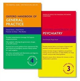 Book Oxford Handbook of General Practice and Oxford Handbook of Psychiatry by Chantal Simon