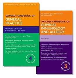 Book Oxford Handbook of General Practice and Oxford Handbook of Clinical Immunology and Allergy by Chantal Simon