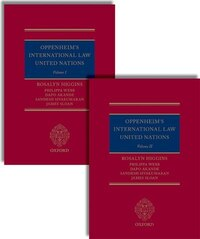 Oppenheims International Law: United Nations