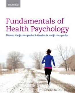 Book Fundamentals of Health Psychology by Thomas Hadjistavropoulos