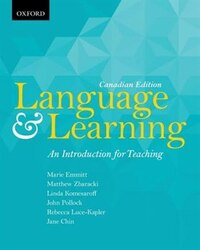 Language and Learning: An Introduction for Teaching, Canadian Edition