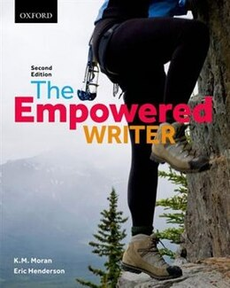 Book The Empowered Writer by Kathleen M. Moran