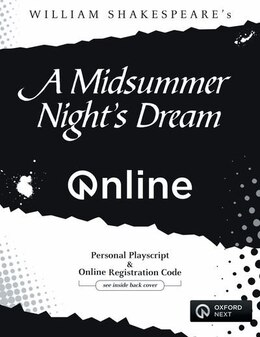 Book A Midsummer Nights Dream ONLINE Personal Playscript and Website Registration Code by William Shakespeare
