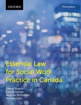 Book Essential Law for Social Work Practice in Canada by Cheryl Regehr