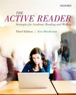 Book The Active Reader: Strategies for Academic Reading and Writing by Eric Henderson