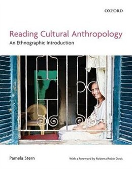 Book Reading Cultural Anthropology: An Ethnographic Introduction by Pamela Stern