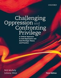Challenging Oppression and Confronting Privilege: A Critical Approach to Anti-Oppressive and Anti…