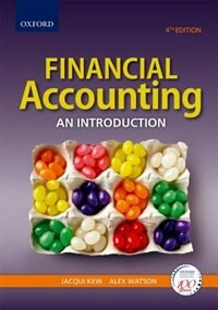 Book Financial Accounting: An introduction by Jacqui Kew