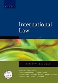 Book International Law by Christopher Gevers