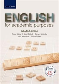 Book English for Academic Purposes by Robert Balfour
