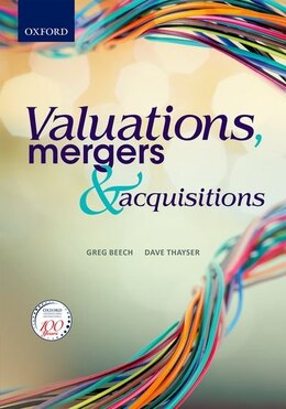 Book Valuations, Mergers and Acquisitions by Greg Beech