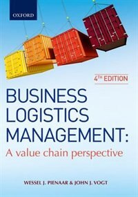 Book Business Logistics Management by Wessel Pienaar