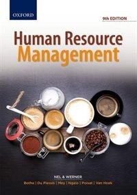 Book Human Resources Management by Pieter Nel