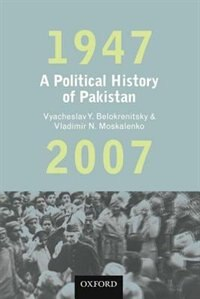 Book A Political History of Pakistan, 1947-2007 by V. Y. Belokrenitsky
