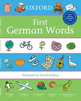 Book Oxford First German Words (2007) by Morris, Neil