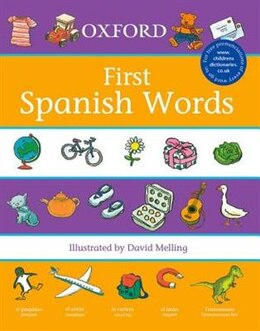 Book Oxford First Spanish Words (2007) by Morris, Neil