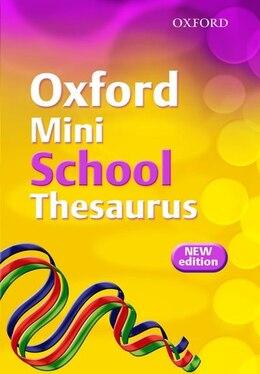 Book Oxford Mini School Thesaurus (2007 Edition) by Robert Allen