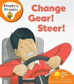 Book Oxford Reading Tree: Stage 6: Floppys Phonics Change Gear! Steer! by Roderick Hunt