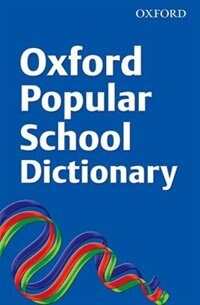 Book Oxford Popular School Dictionary 2008 by Oxford