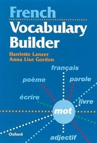 Book French Vocabulary Builder by Harriette Lanzer