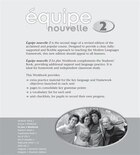Equipe Nouvelle: 2 En Plus Workbook