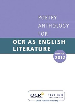 Book AS Poetry Anthology for OCR 2012-2014 by Oxford