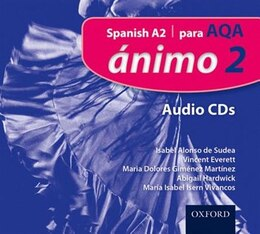 Book Animo: 2 Para AQA Audio CDs by Isabel Alonso de Sudea