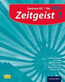 Book Zeitgeist: 1 Fur AQA Student Book by Corinna Schicker