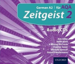 Book Zeitgeist: 2 Fur AQA Audio CDs by Corinna Schicker