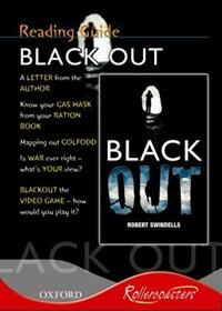 Book Rollercoasters: Blackout Reading Guide by Robert Swindells